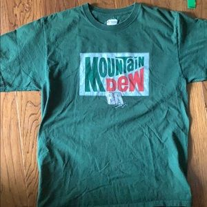 Dale Jr Mountain Dew racing tee